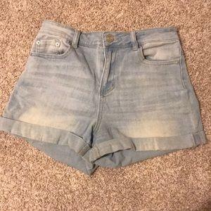 Rue21 High-Waisted Denim Shorts